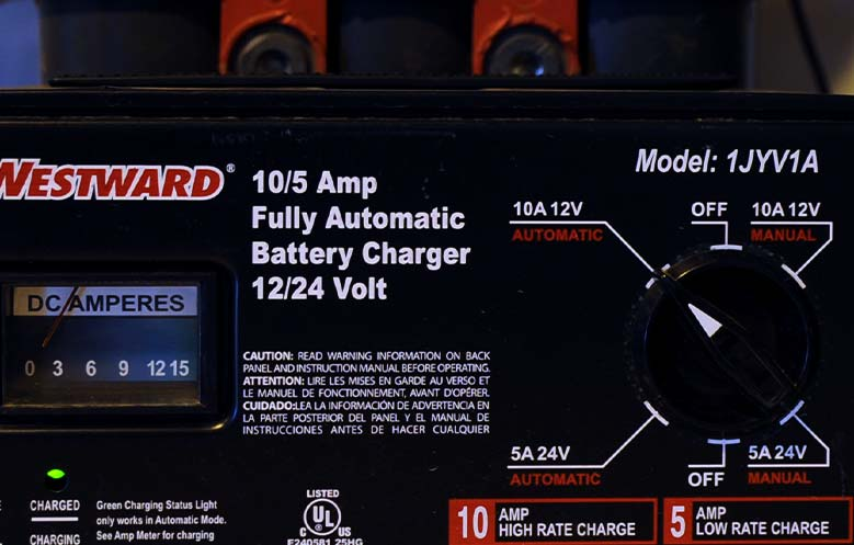 Battery-Charger-Amp-Meter