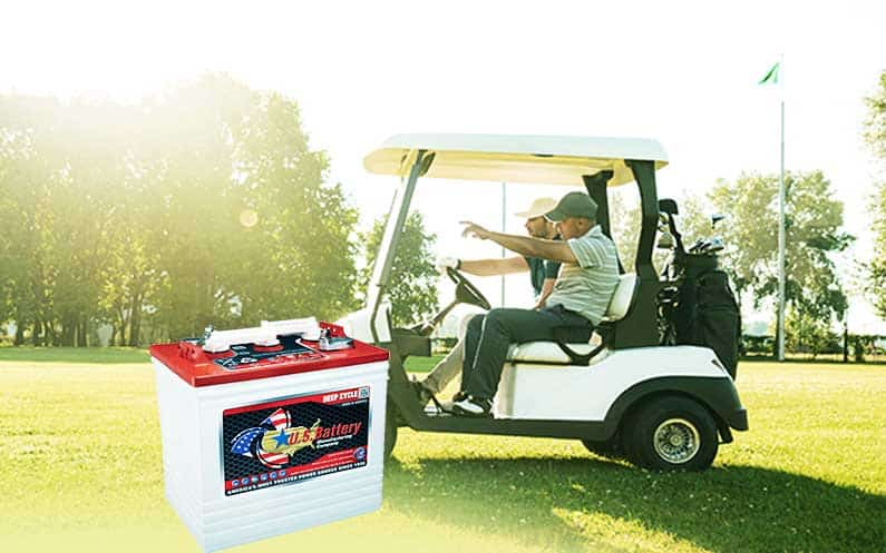 Deep Cycle Batteries In A Golf Cart